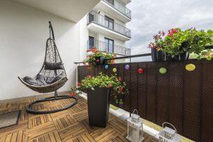 Balkon Bespannung