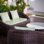 Balkonmöbel aus Rattan – ein Geflecht, das gute Laune macht
