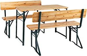 Sitzbänke mit Tisch