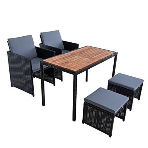 ESTEXO Polyrattan Sitzgruppe