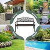 Relax4Live Gartenbank Metall