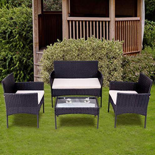 LIFE CARVER Garten Lounge Set