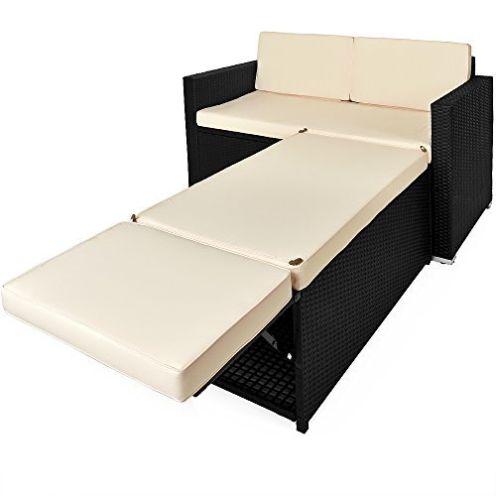 Deuba Polyrattan Lounge