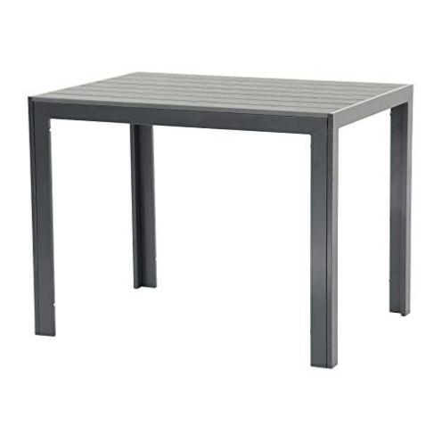 Pure Home & Garden Aluminium Tisch Fire Oblong