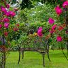 Relaxdays Gartenbank Rosen