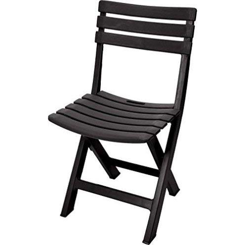 Spetebo Klappstuhl aus Kunststoff