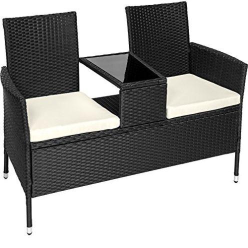 Tectake 401547 Sitzbank mit Tisch