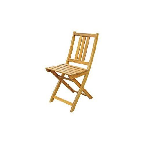 XXS Akazie-Holz Garten-Stuhl