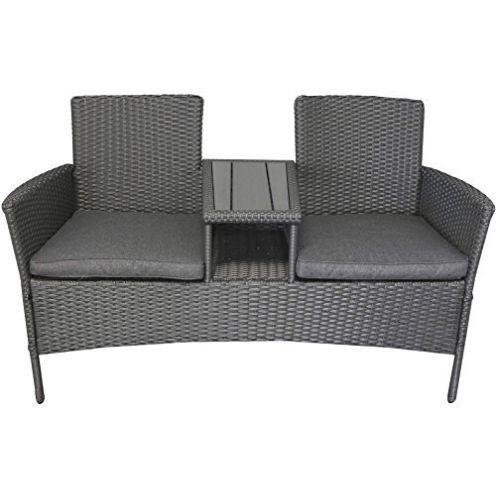XXXL Sitzbank mit Polywood-Tisch